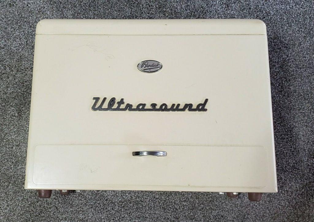 BURDICK MODEL UT-400 Ultrasonic Therapy Quack Medicine 1950s Medical Device