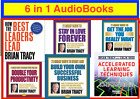 Brian Tracy - 6 in 1 Audio books CD Mp3 in English - Digital