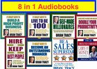 Brian Tracy - 8 in 1 Audio books CD Mp3 in English - Digital