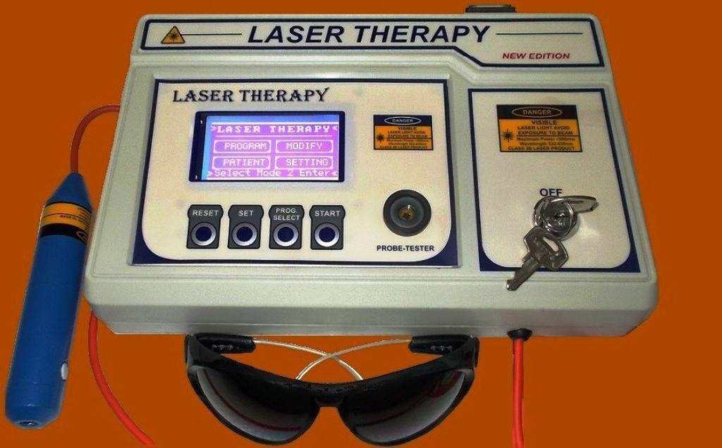 COMPUTERISED LASER THERAPY DEVICE different medical application Machine hjgv