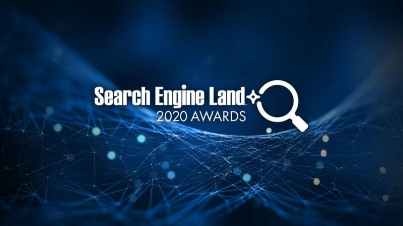 Entries are now being accepted for the 2020 Search Engine Land Awards