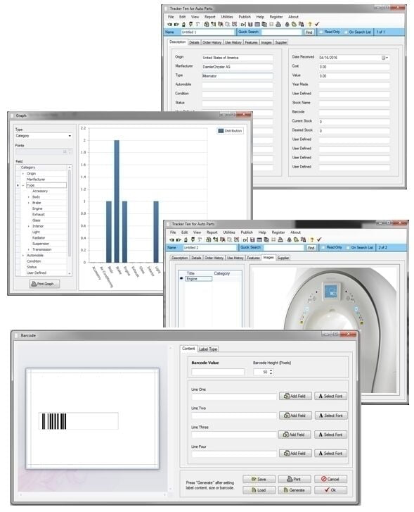 Hospital Medical Device & Diagnostic Equipment Cost Service Tracking Software CD