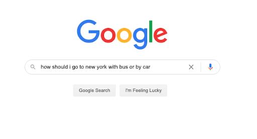 google querey example