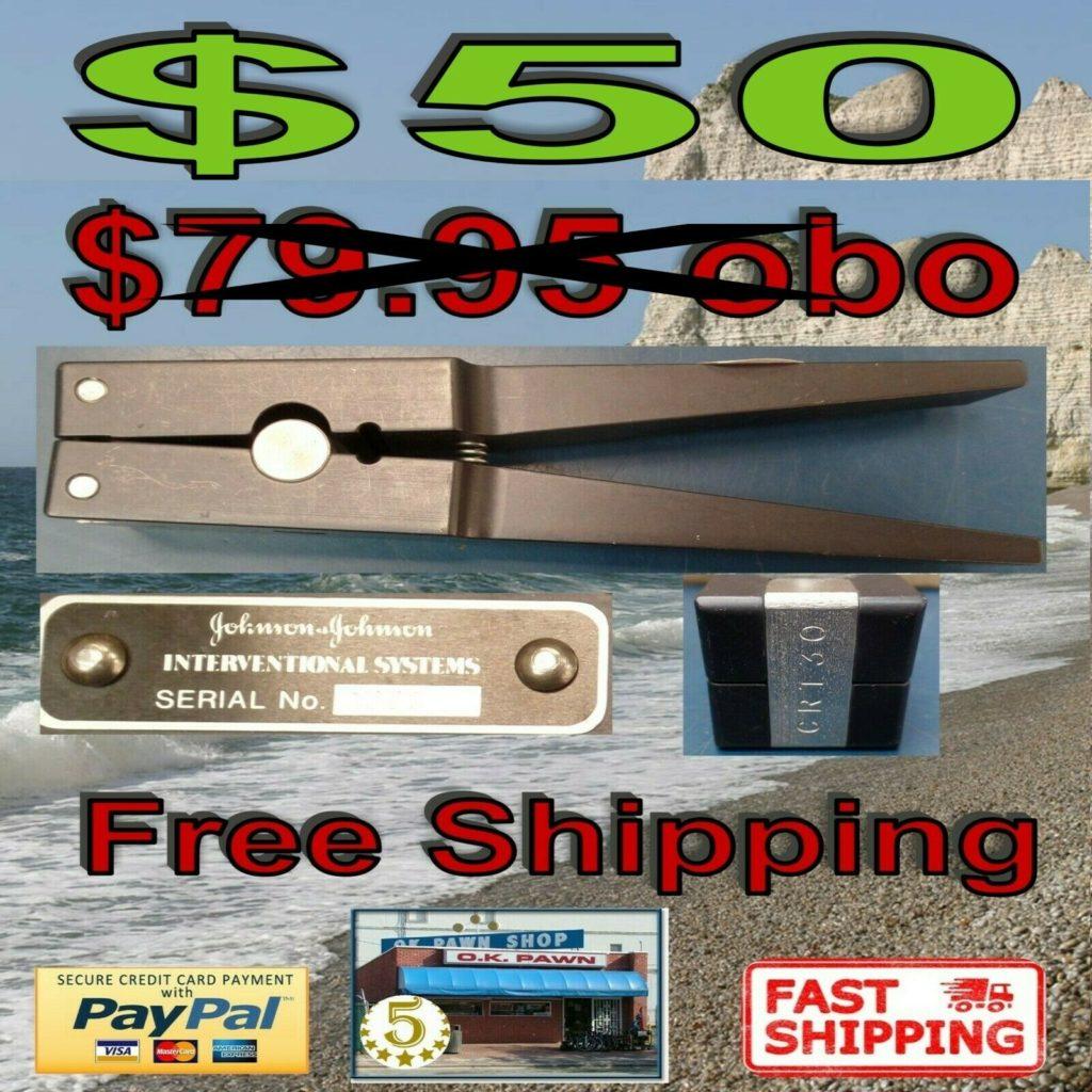 Johnson & Johnson Interventional System CRT-30  Medical Device Free Shipping