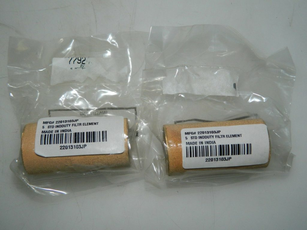 Jupiter Pneumatics 5 Micron Element For Use with Standard Filters 2Pk 22013103JP