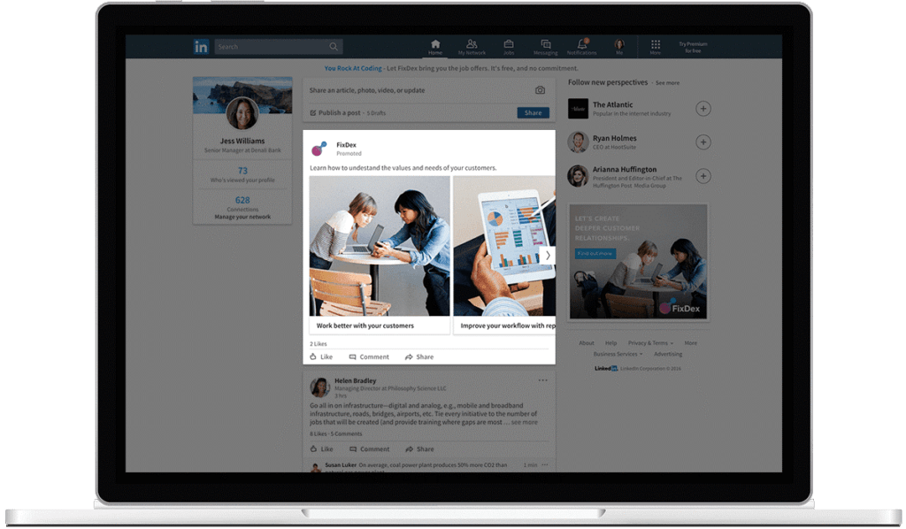LinkedIn Introduces Carousel Ads