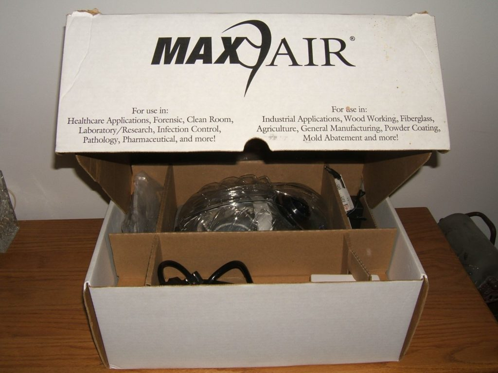 Max Air Bio-Medical Devices Complete System #2000-800 (New In Box)