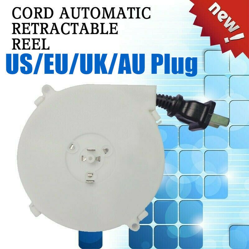 Medical Device Power Cord Automatic Retractable Reel