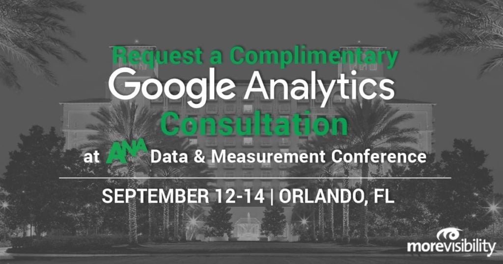 Meet MoreVisibility at 2018 #ANAMetrics Data & Measurement Conference