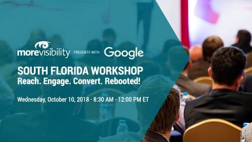 MoreVisibility's Fall Google Workshop Returns to South Florida on October 10