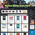 REAL ESTATE BOOK STORE - Professional Designed Online Business Website For Sale!