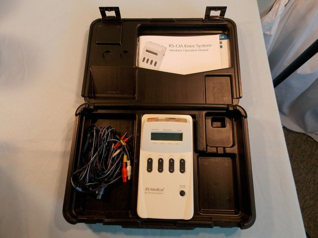 RS MEDICAL RS-OA KNEE SYSTEM, TENS therapy TYPE DEVICE NO PADS NO AC ADAPTER