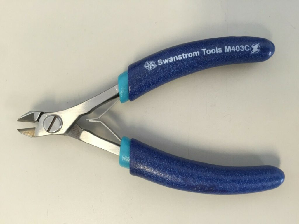 Swanstrom M403C ESD-Safe Small Carbide Tapered Fine Tip Medical Device Cutter