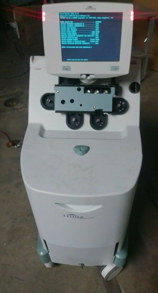 TRIMA ACCEL 917000-000 AUTOMATED BLOOD COLLECTION SYSTEM MEDICAL SAMPLE DEVICE