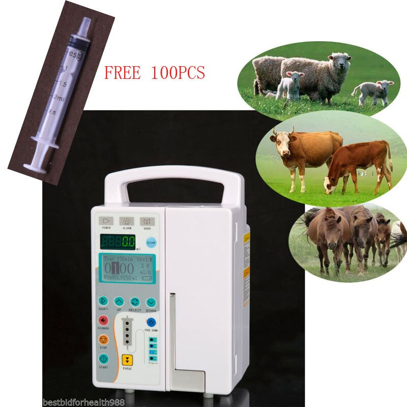 VET Micro Macro Plum IV Infusion Pump Veterinary Medical Infusion Medical Device
