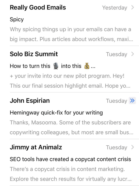 Emojis in email subject lines stand out in the crowded inbox