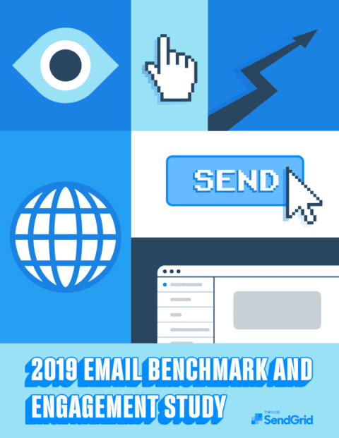 Cover of 2019 Email Benchmark and Engagement Study