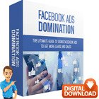 Facebook Ads Domination Video Course & e. Book To Increase Business Profits + RR