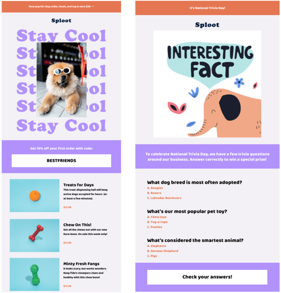 Inspiration for Your 2020 Email Campaigns