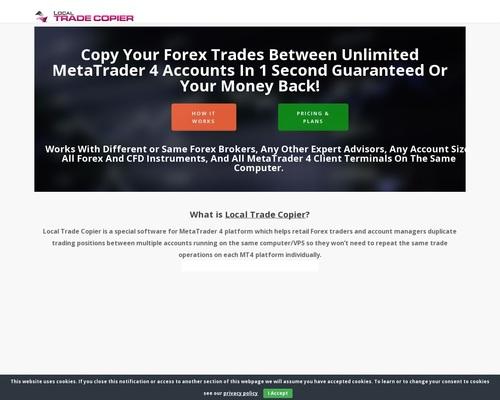 MT4 Trade Copier - Forex Copy Trading Software