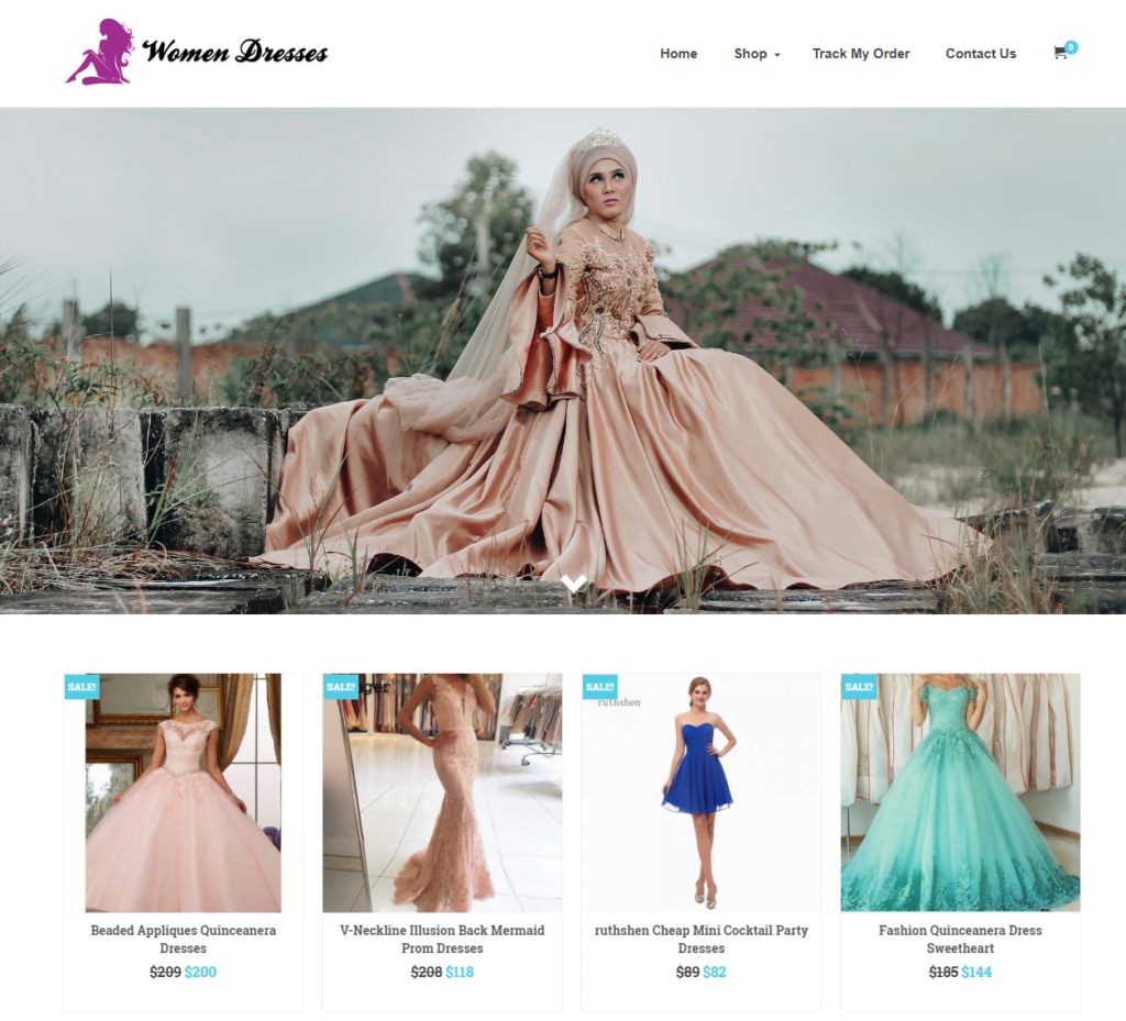 Women Dresses Turnkey Website BUSINESS For Sale - Profitable DropShipping