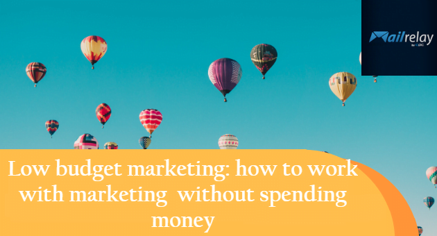 how to work with marketing without spending money