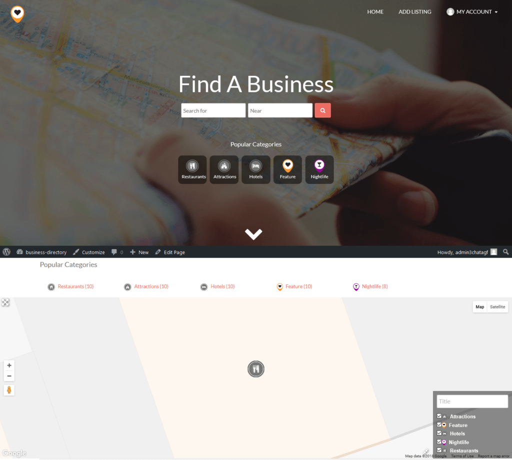Awesome Business Directory Website For Sale