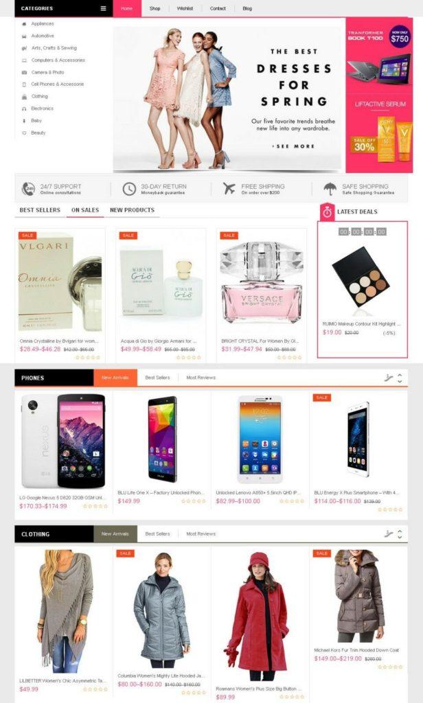 All-In-One Affiliate E-Commerce Website - Free Install + Hosting + SSL