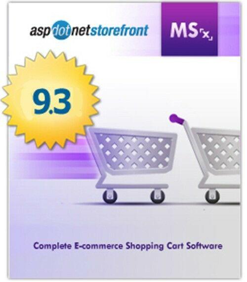 """AspDotNetStorefront Shopping Cart E-Commerce Website """"Full"""" License Source Code"""