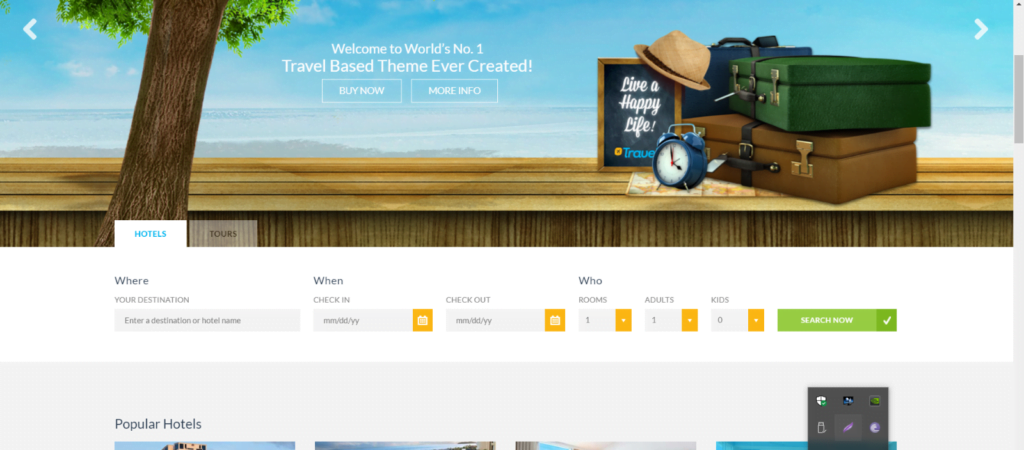 Complete Travel & Hotel Website More Features Than You Can Imagine with booking