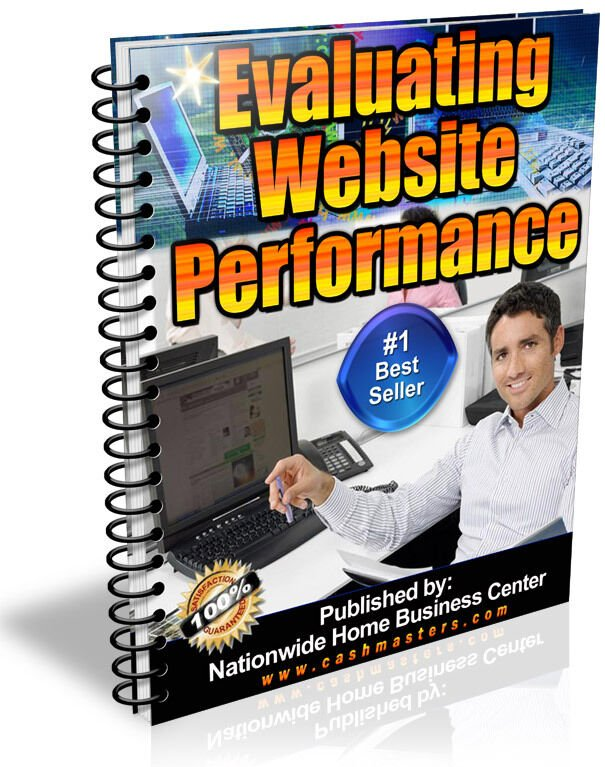 EVALUALTING WEBSITE PERFORMANCE PDF EBOOK FREE SHIPPING RESALE RIGHTS
