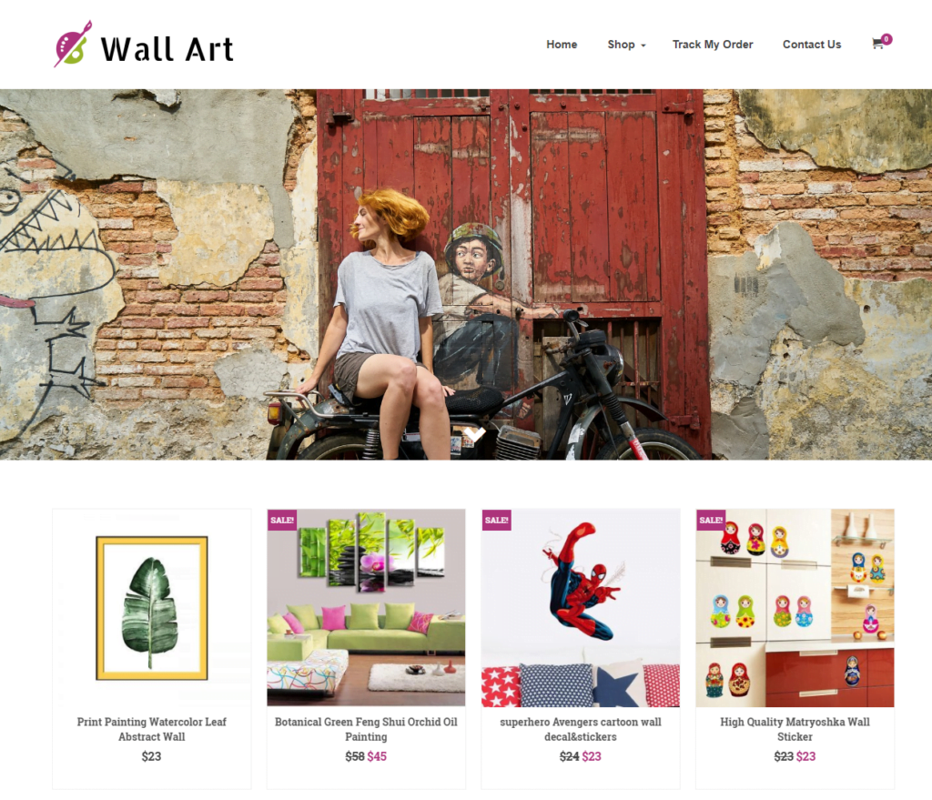 Established Wall Art Turnkey Website BUSINESS For Sale - Profitable DropShipping