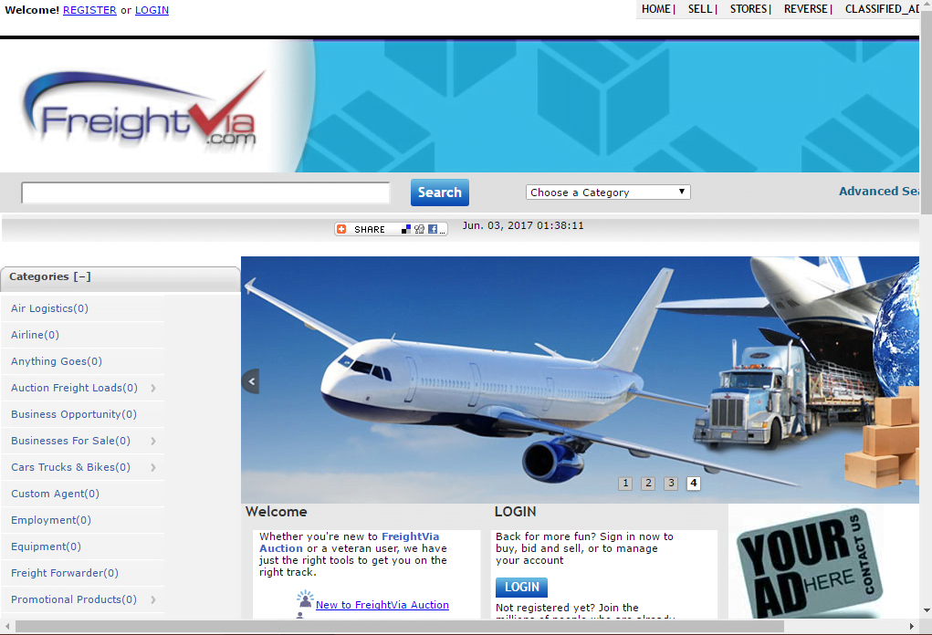 Freight Shipping System Website - Installation + Free Hosting