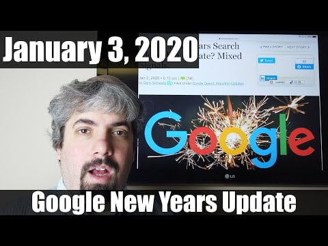 Google New Years Update, Video Text To Speech Spam, Google's Company Culture Failing?