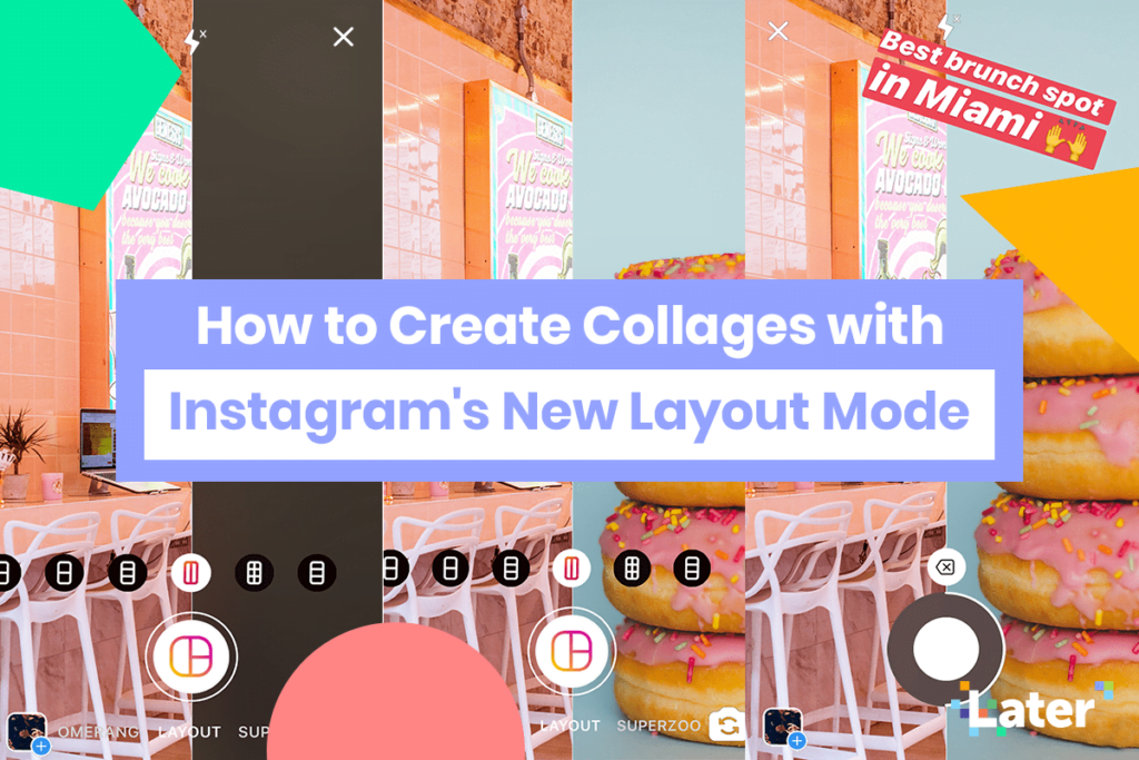 How to Create Collages with Instagram's New Layout Mode