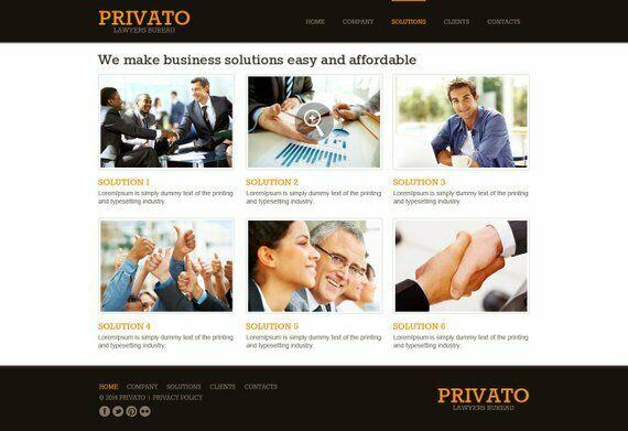 Law Firm PSD Template, Website Design, WordPress Website Design, Law Firm site