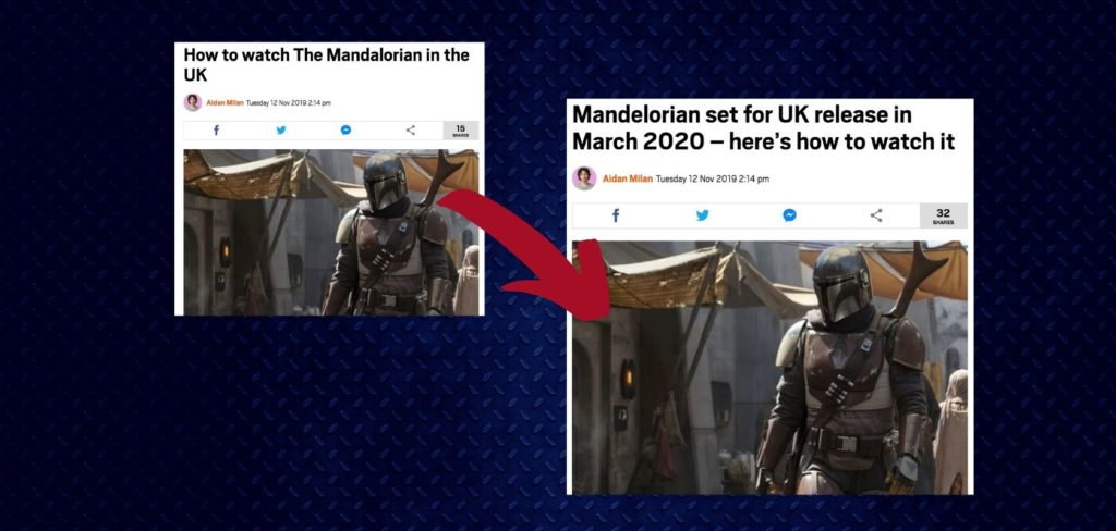 Metro changes headline about The Mandalorian after reader complains to UK Press Standards agency