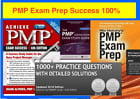 PMP Exam Prep Rita Mulcahy 100% Guaranteed + 3 Books PMBOK + 2400 Q