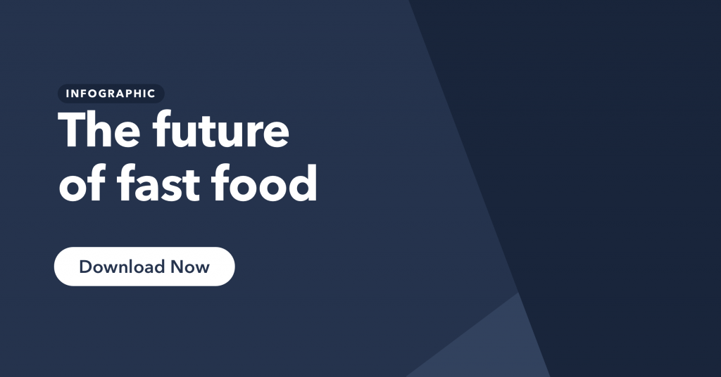 Click to access out infographic on the future of fast food.