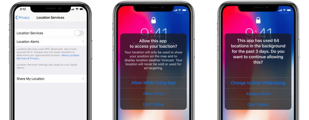 There's been a nearly 70% decline in always-on location data, since iOS 13 rollout