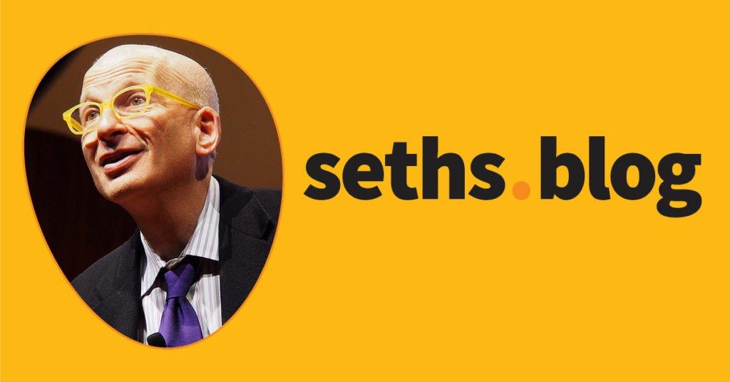 Toward resilience | Seth's Blog