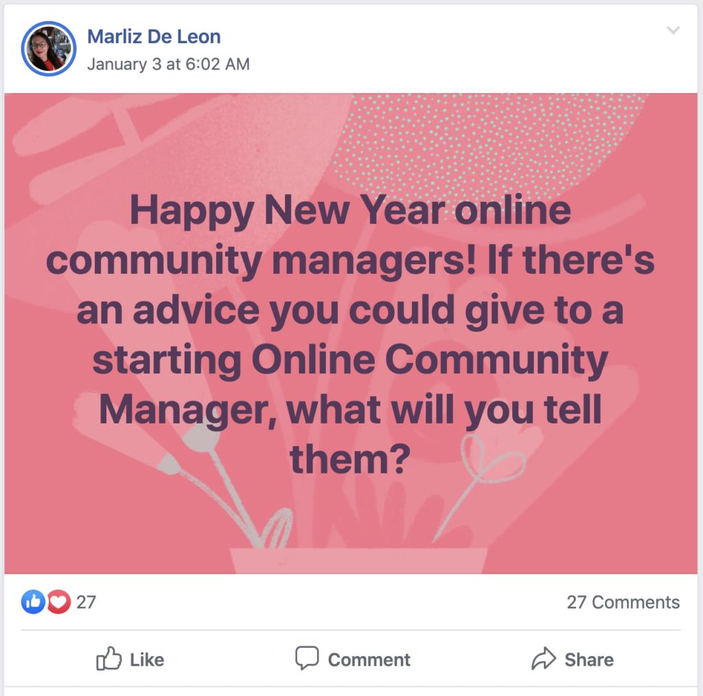 Social media careers - community management