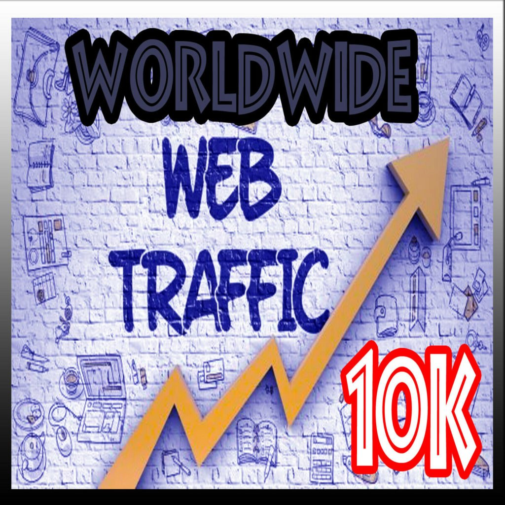 do 10,000 Worldwide website visitors from promotion campaigns safe visitors