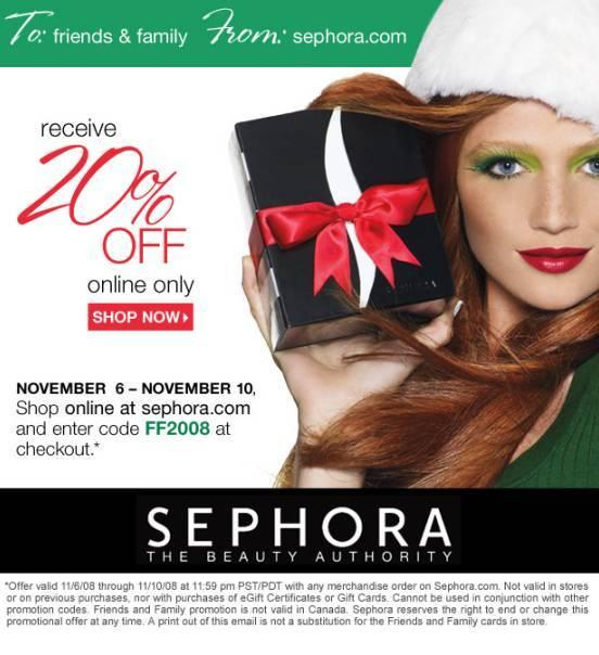 Compelling holiday discount email example