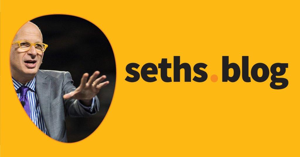 Action figures | Seth's Blog