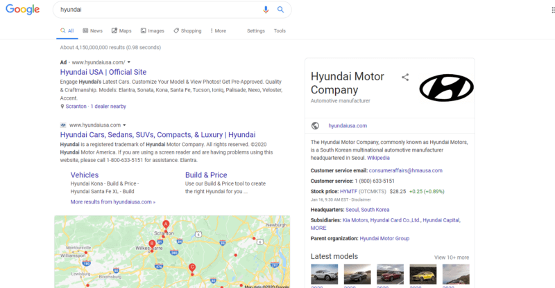 Analyzing search results reveals a lot about Google's view of useful content