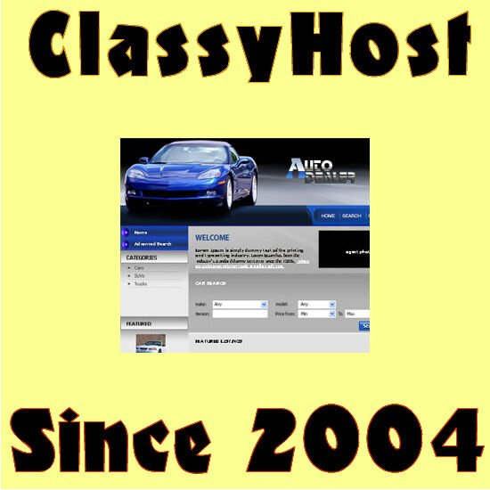 Autos Dealer Website. FREE Domain. Post New Used Cars Trucks for Sale