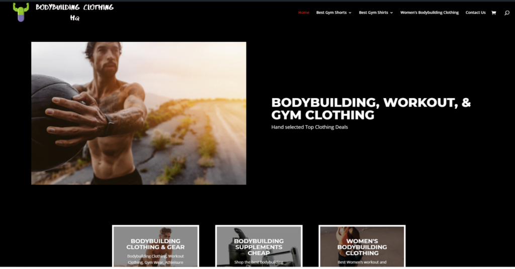 Bodybuilding Clothing Supplements Website - houseofpainironwear.com