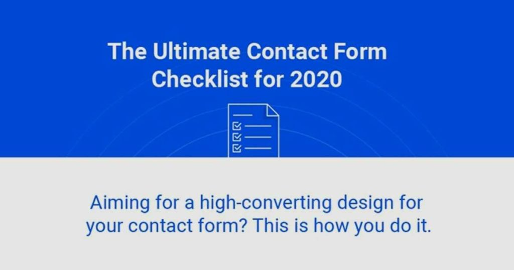 Contact Forms and Pages: A Checklist and Guide