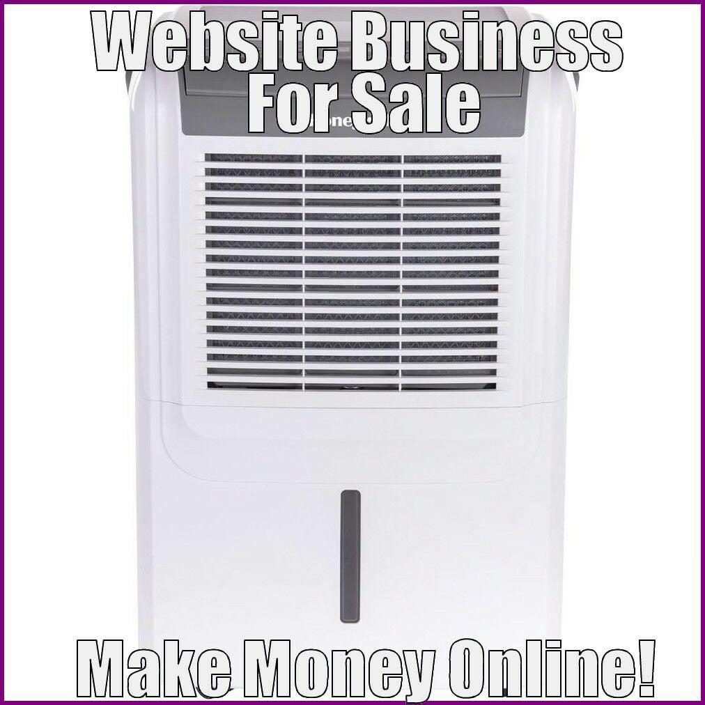 DEHUMIDIFIERS Website Earn $261.95 A SALE|FREE Domain|FREE Hosting|FREE Traffic